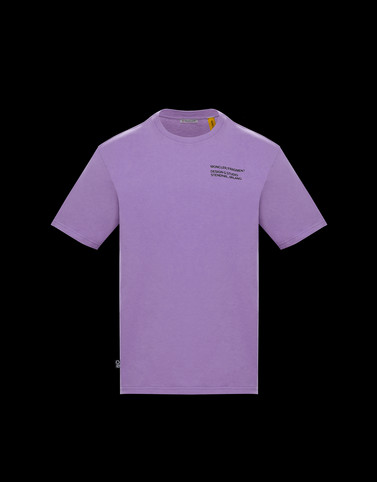 T-SHIRT Lilac New in Man