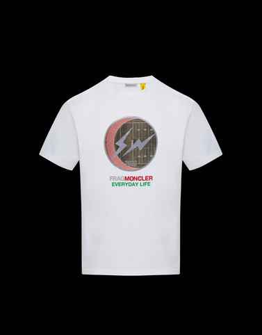 Tシャツ ホワイト 7 Moncler Fragment Hiroshi Fujiwara メンズ