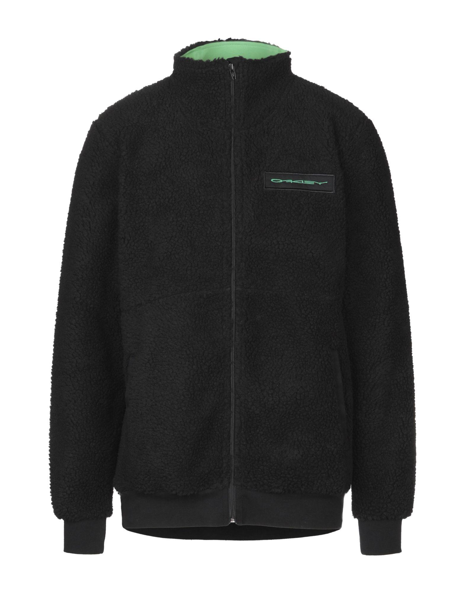 《セール開催中》OAKLEY メンズ スウェットシャツ ブラック S ポリエステル 100%