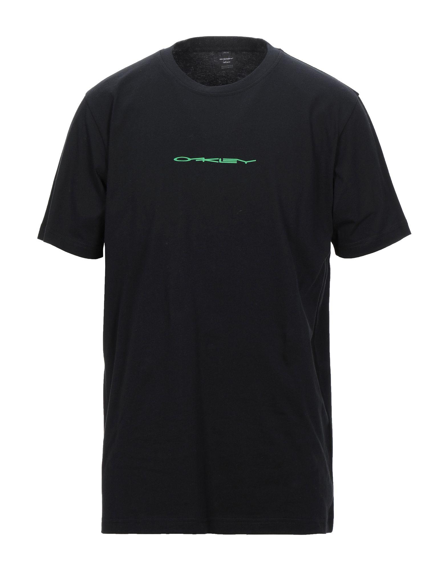 《セール開催中》OAKLEY メンズ T シャツ ブラック S コットン 100%