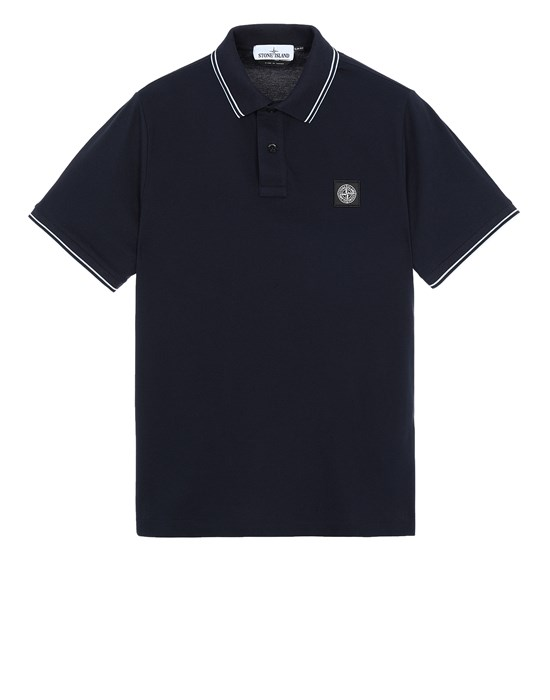 STONE ISLAND 22S18 Polo shirt Man Blue