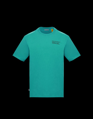 T-SHIRT Emerald green Polos & T-Shirts Man