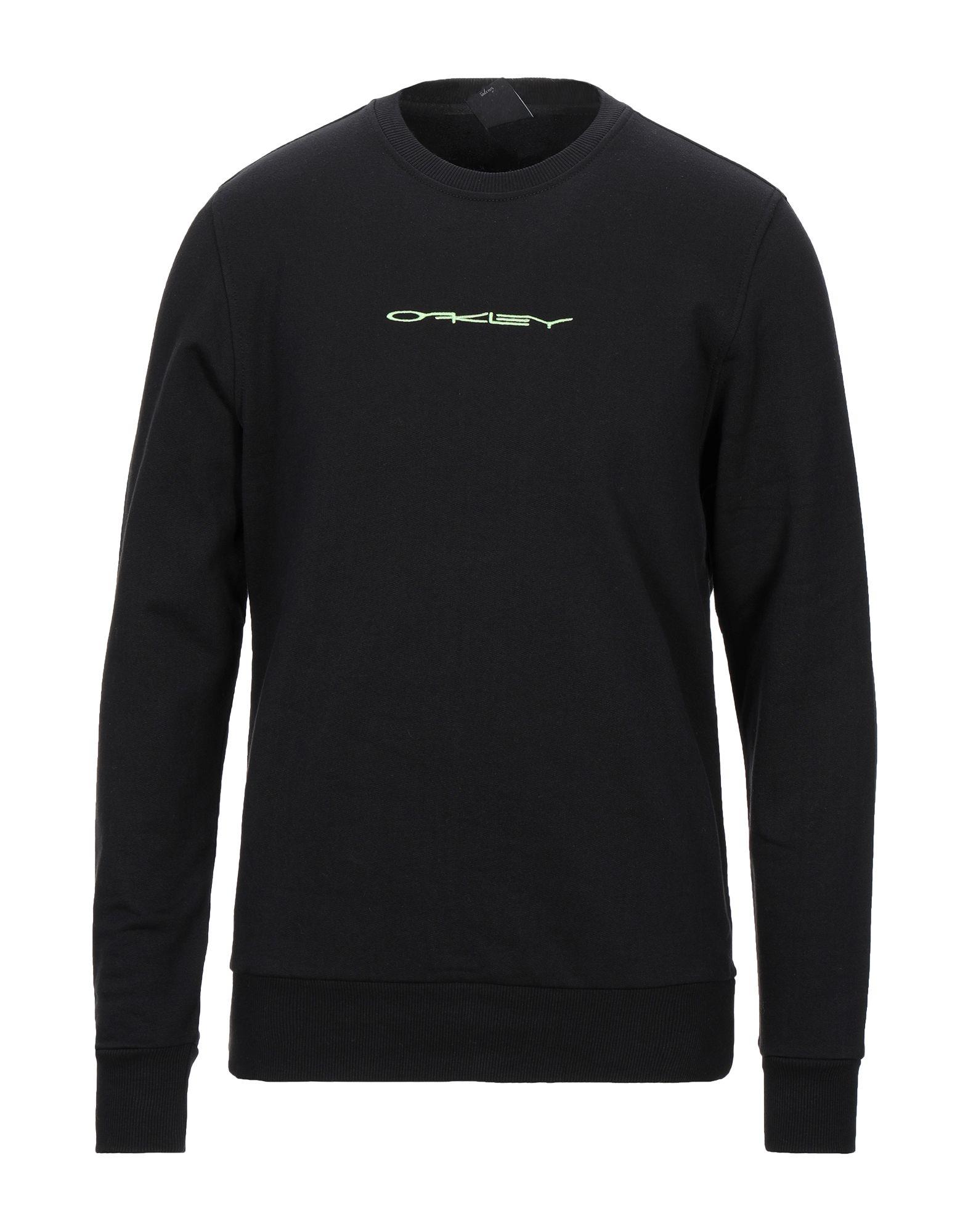 《セール開催中》OAKLEY メンズ スウェットシャツ ブラック XS コットン 100%