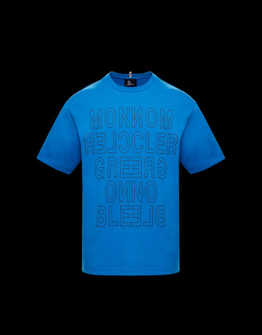 T-SHIRT Bright blue Polos & T-Shirts Man