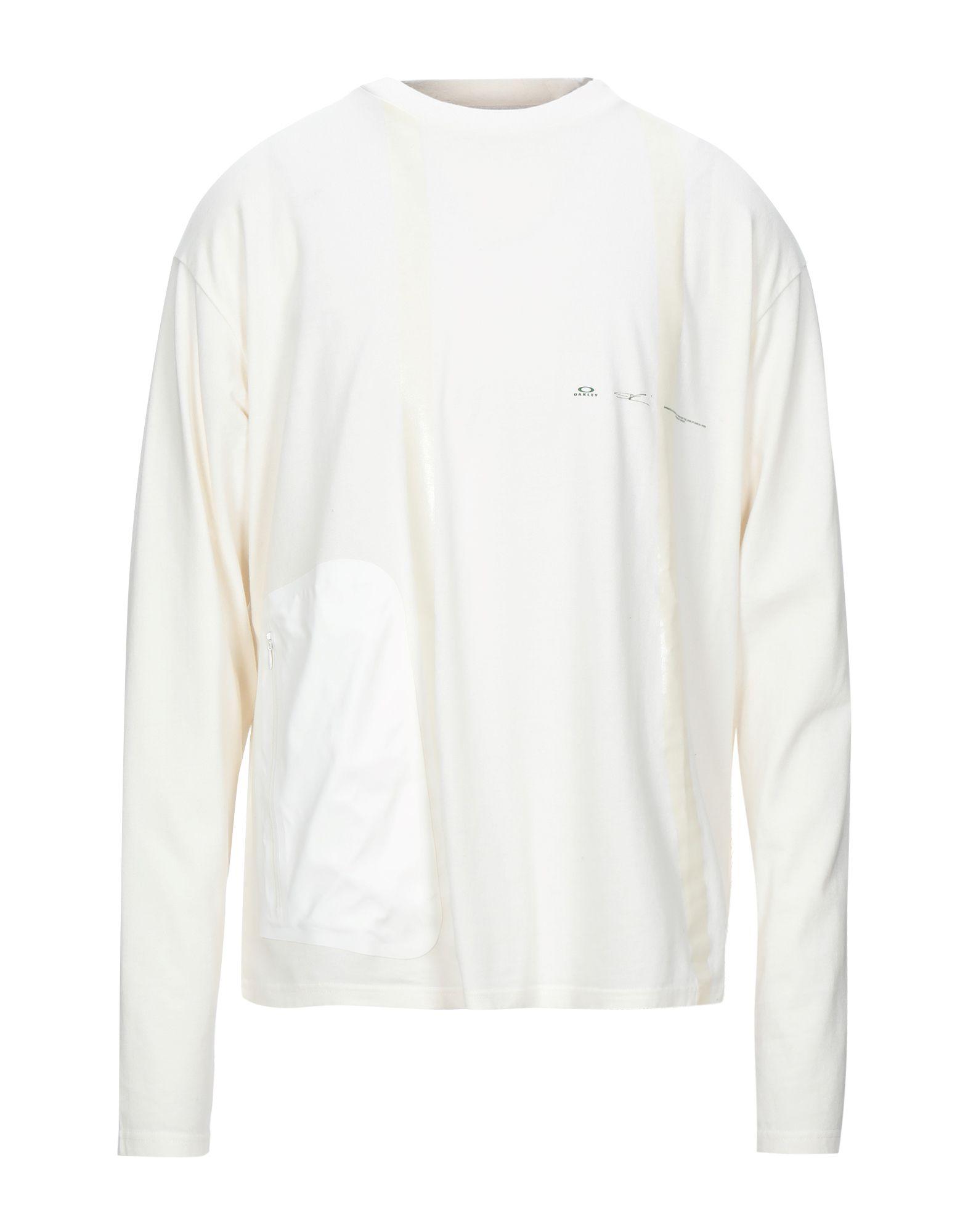《セール開催中》OAKLEY メンズ T シャツ アイボリー L コットン 100%