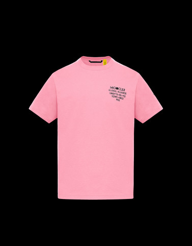 T-SHIRT Bright pink 2 Moncler 1952 Man