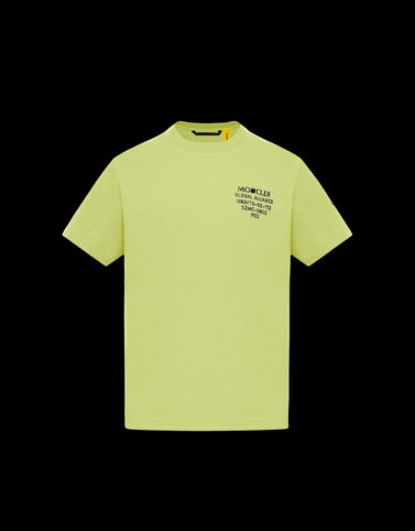 T恤 荧光黄 新品上线 男士