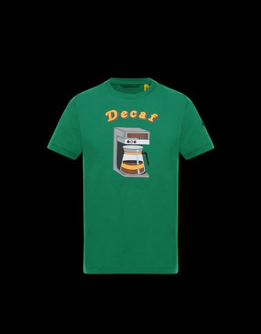 T恤 绿色 Polo 衫及 T 恤 男士
