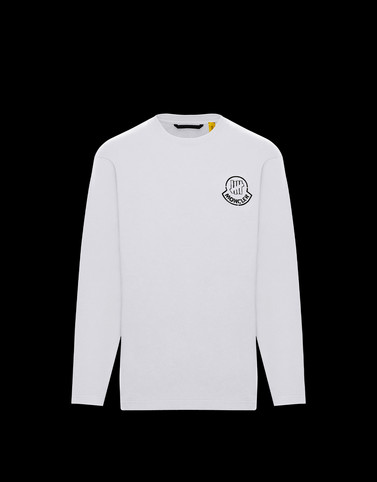 LONG-SLEEVED T-SHIRT White 2 Moncler 1952 Man