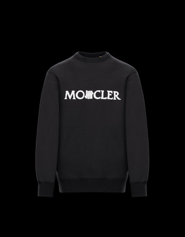 CREWNECK SWEATSHIRT Black 2 Moncler 1952 Man