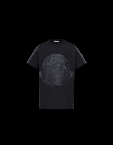 T-SHIRT Black Category T-shirts Man