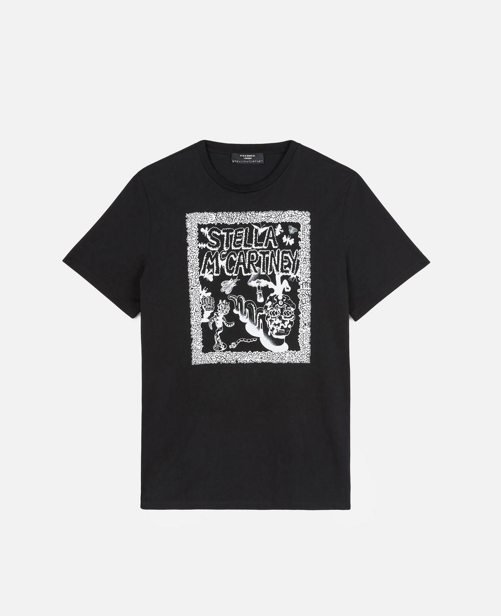 Blanc T-shirt Carbot en coton biologique, Unisex, Size XXS - Stella McCartney - Modalova