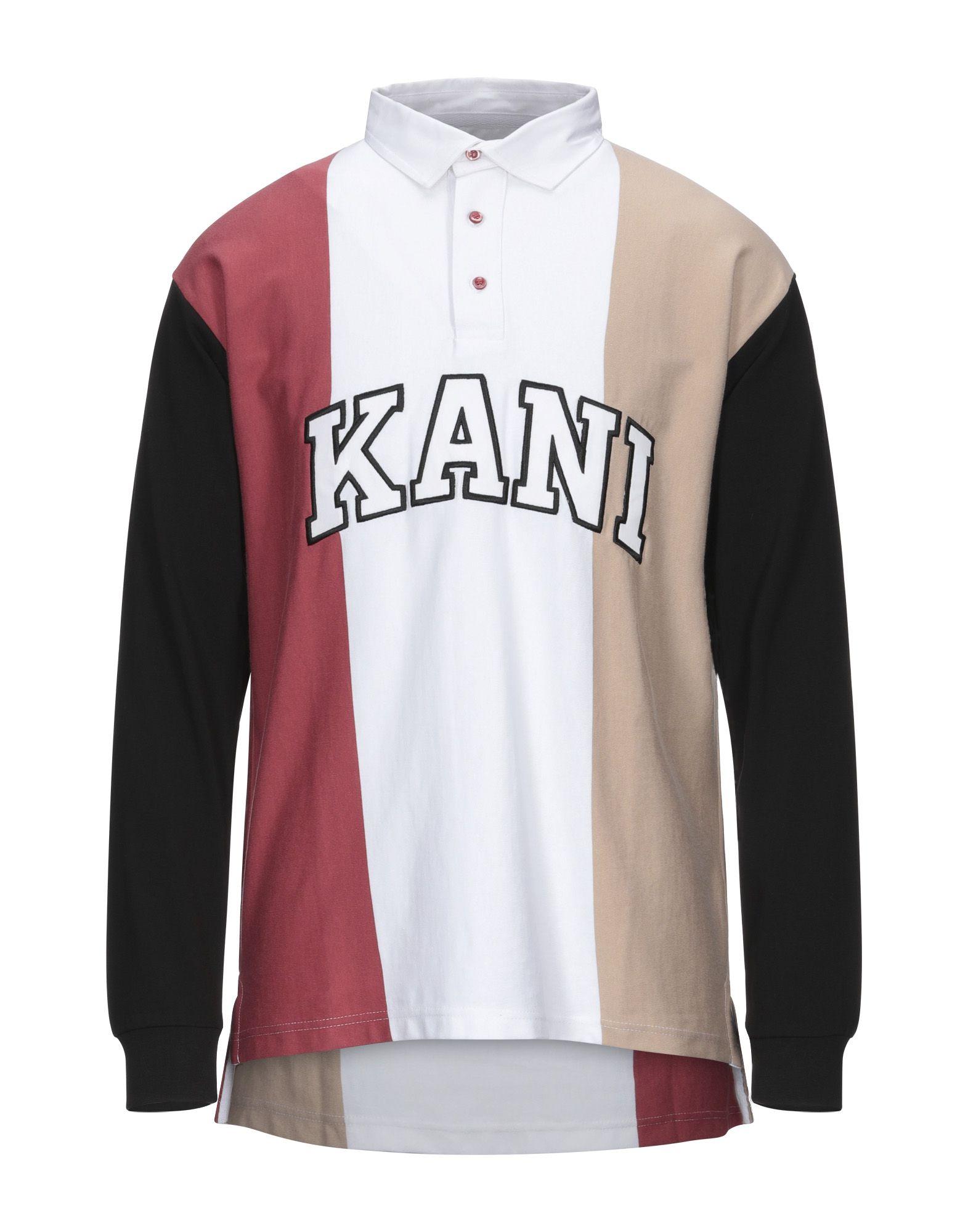 《セール開催中》KARL KANI メンズ ポロシャツ ホワイト XS コットン 100%