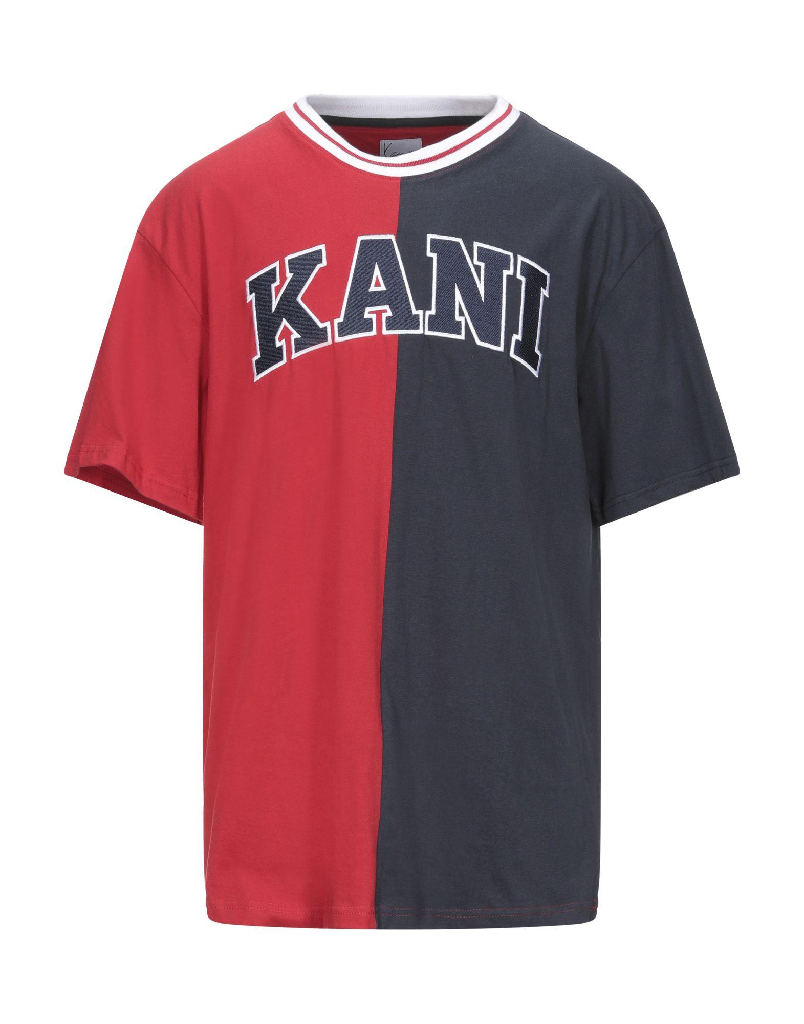 《セール開催中》KARL KANI メンズ T シャツ レッド XS コットン 100%