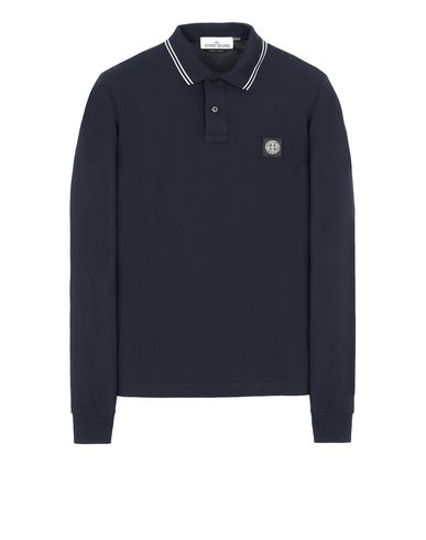 STONE ISLAND 2SS18 Polo shirt Man Blue EUR 149