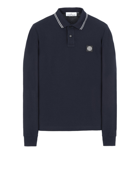 STONE ISLAND 2SS18 Polo shirt Man Blue