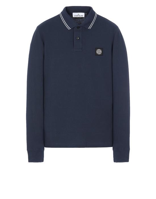 STONE ISLAND 2SS18 Polo shirt Man Marine Blue