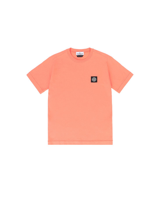Short sleeve t-shirt Man 20147 Front STONE ISLAND JUNIOR