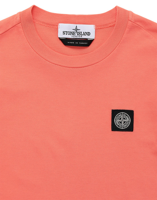 12492736sq - Polo - T-Shirts STONE ISLAND JUNIOR
