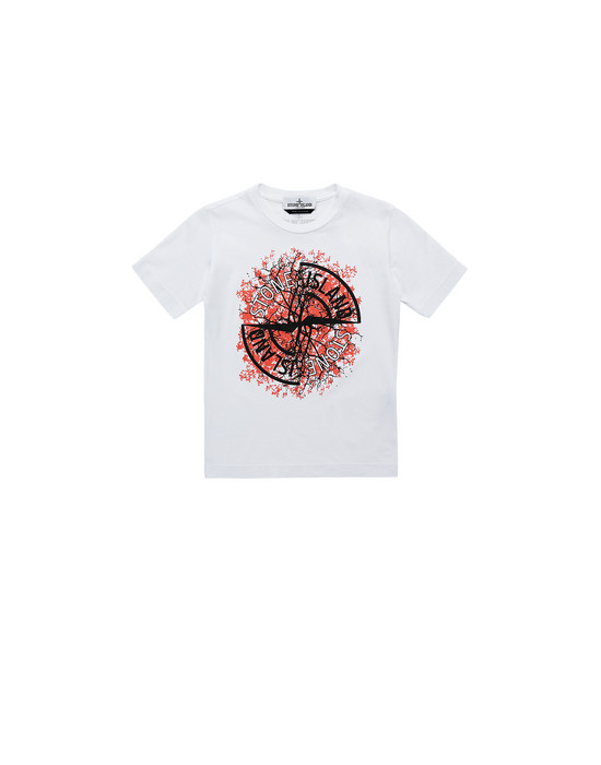 STONE ISLAND KIDS 21057 Short sleeve t-shirt Man White