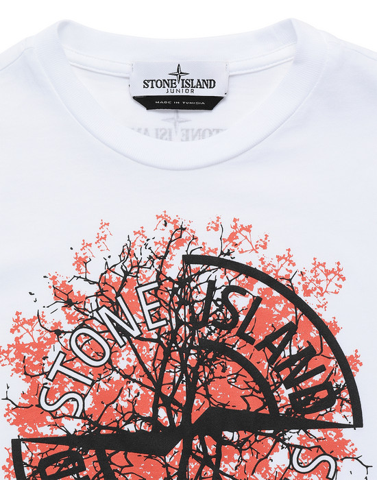 12492745jv - Polos - T-shirts STONE ISLAND JUNIOR