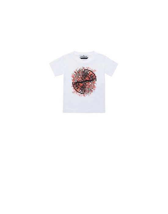 STONE ISLAND BABY 21057 Short sleeve t-shirt Man White