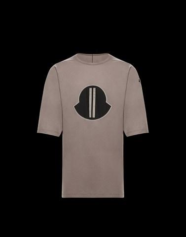 Tシャツ ライトグレー Moncler Rick Owens レディース