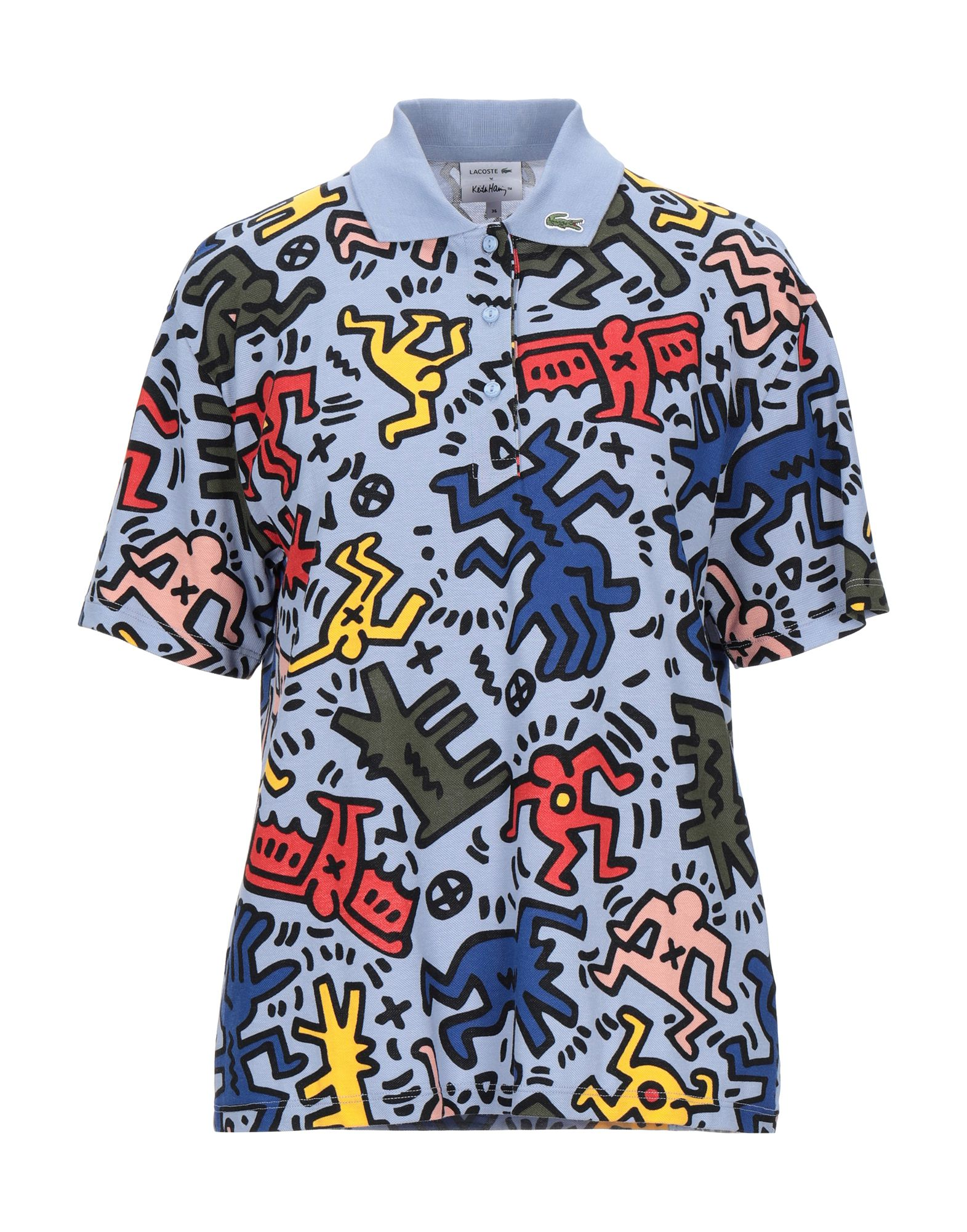LACOSTE x KEITH HARING Поло