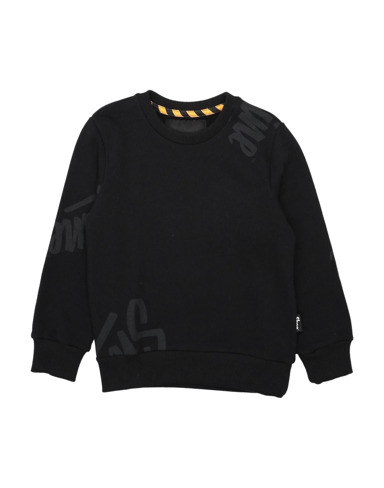 Shoeshine Kids' Sweatshirts In Black