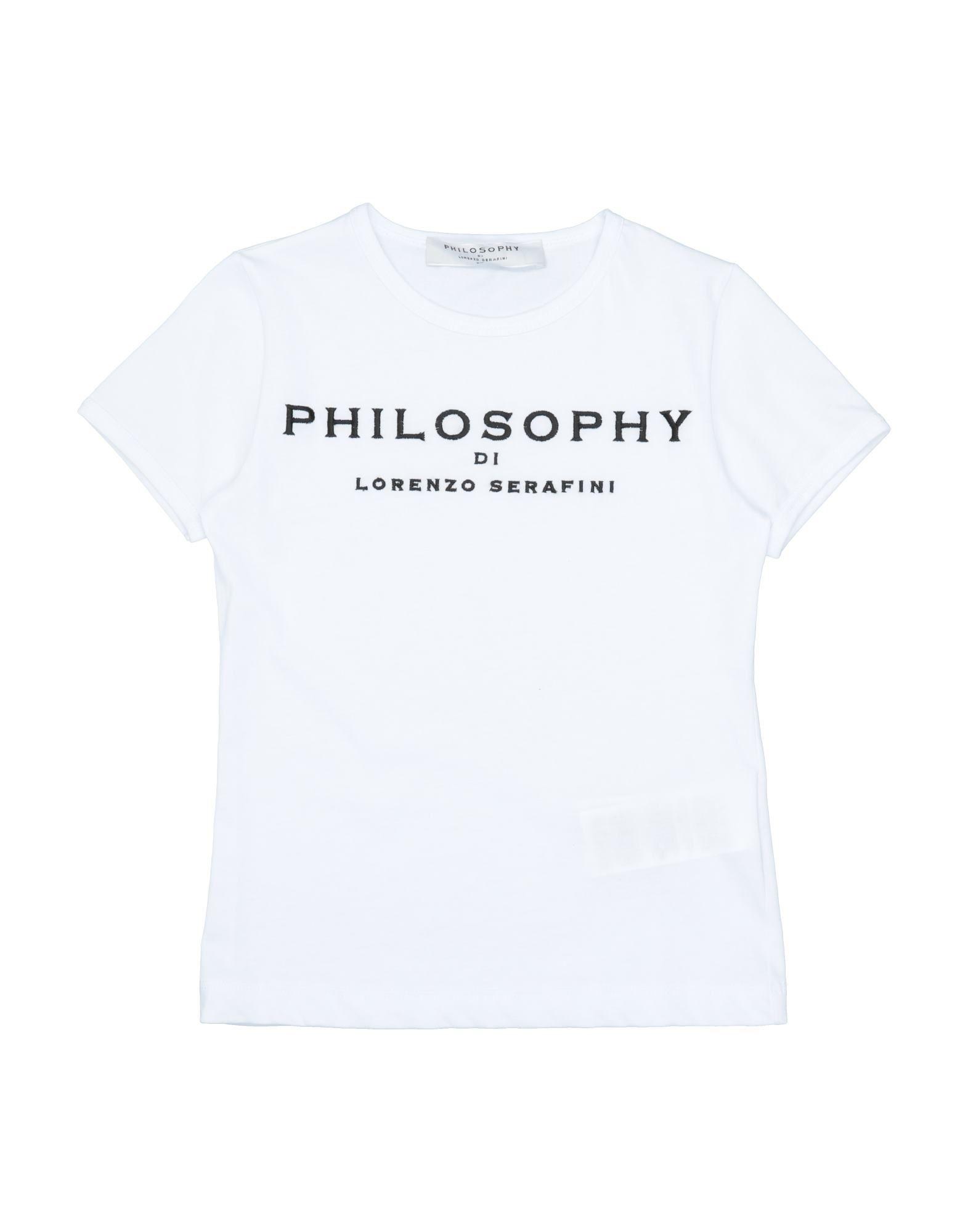 Philosophy Di Lorenzo Serafini Cottons T-SHIRTS