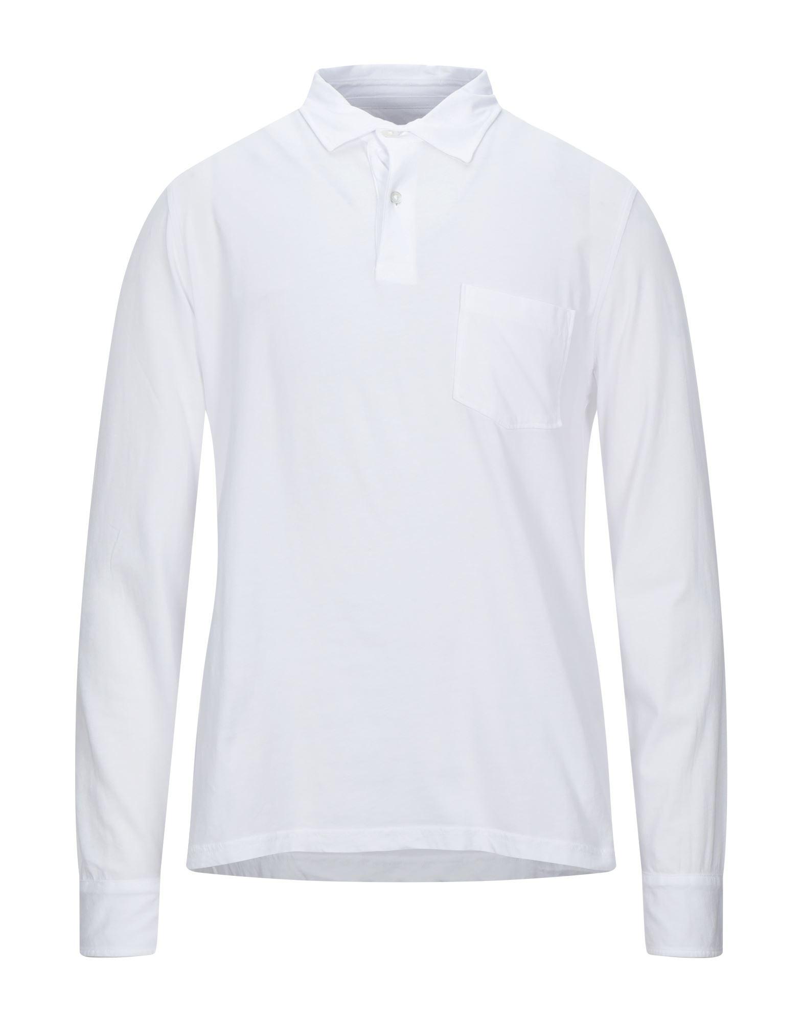 《セール開催中》HARTFORD メンズ ポロシャツ ホワイト M コットン 100%