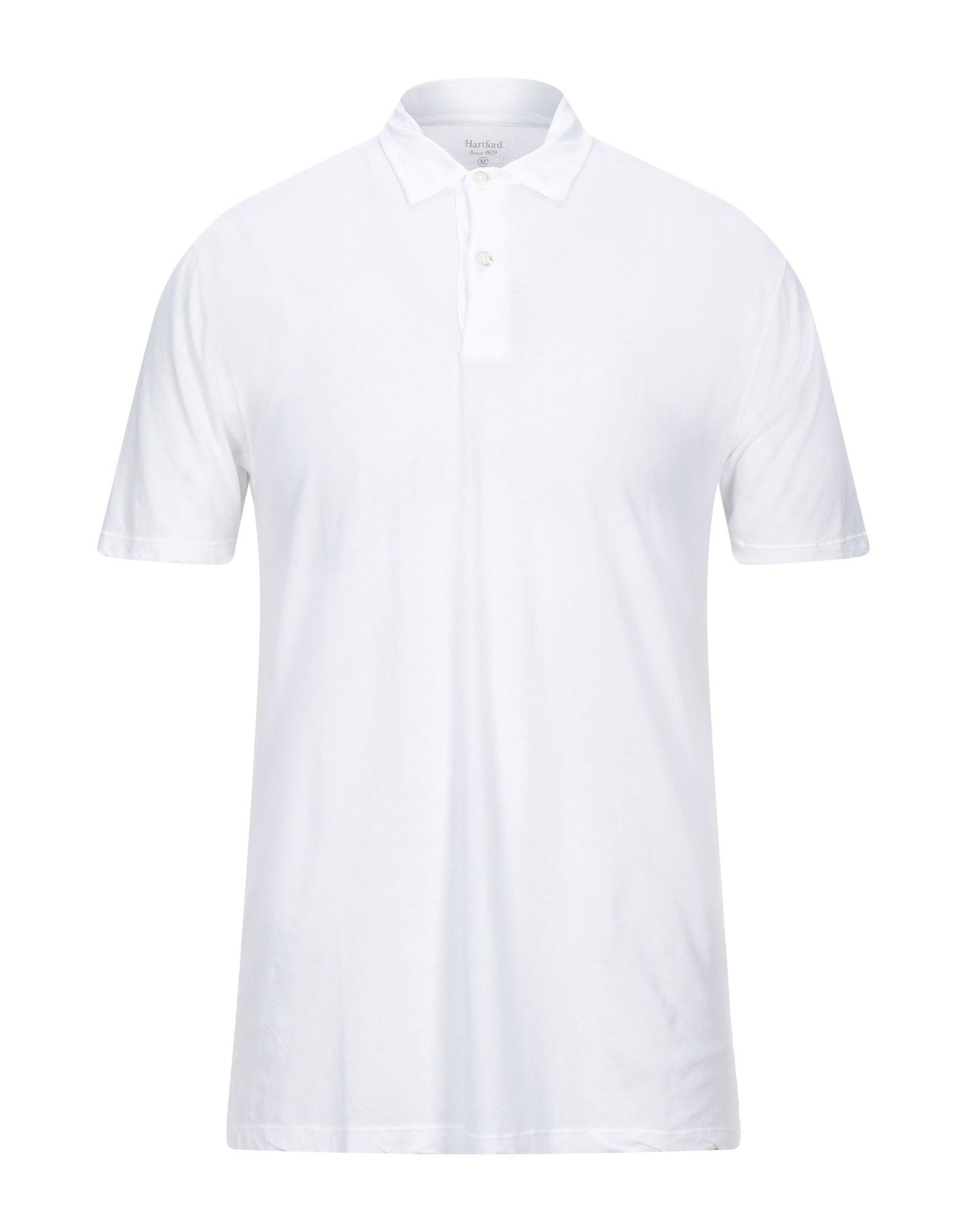 《セール開催中》HARTFORD メンズ ポロシャツ ホワイト S コットン 100%
