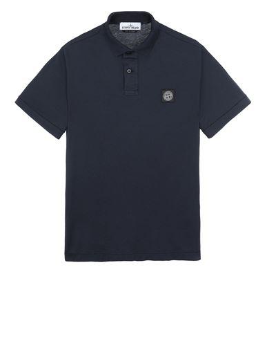 STONE ISLAND 22613 Polo shirt Man Blue EUR 107