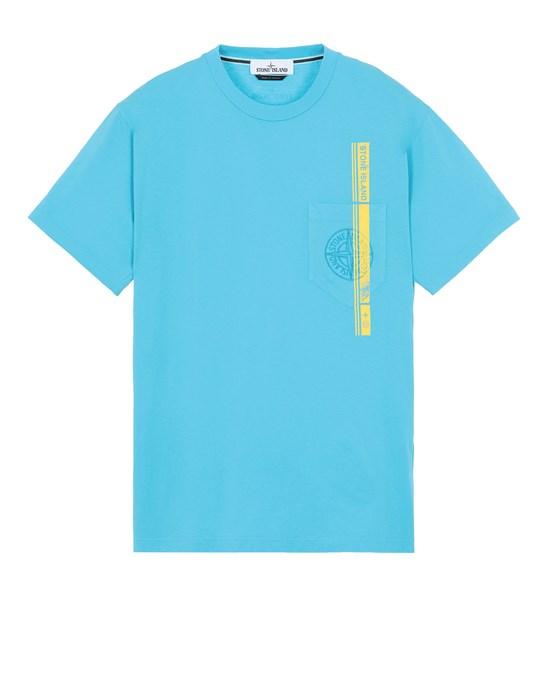 Short sleeve t-shirt Man 24675 'BLOCK FOUR' Front STONE ISLAND