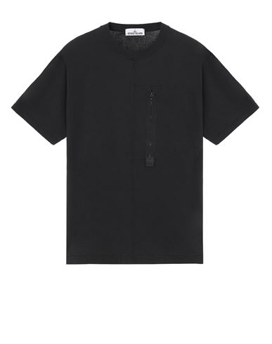 STONE ISLAND 20158 Short sleeve t-shirt Man Black USD 156