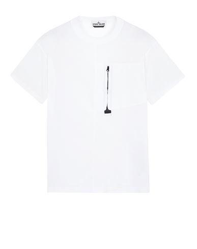 STONE ISLAND 20158 Short sleeve t-shirt Man White EUR 159