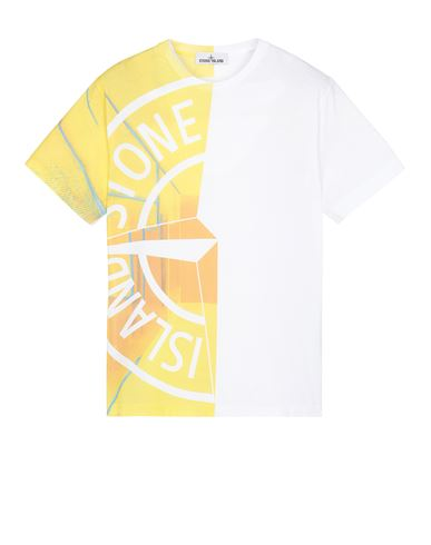 STONE ISLAND 2NS87 'URBAN 2' Short sleeve t-shirt Man White EUR 189