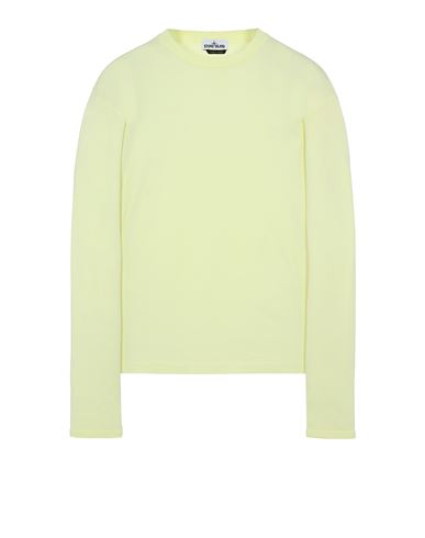 STONE ISLAND 21013 Long sleeve t-shirt Man Lemon EUR 140