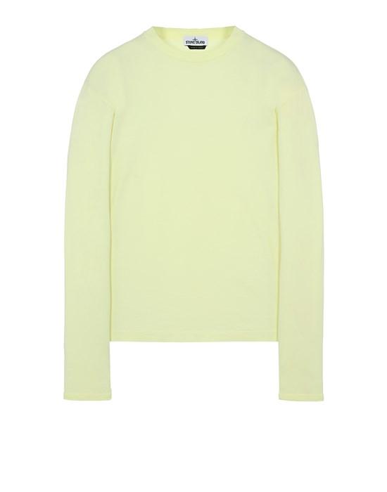 STONE ISLAND 21013 Long sleeve t-shirt Man Lemon