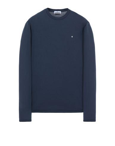 STONE ISLAND 21013 Long sleeve t-shirt Man Avio Blue USD 137
