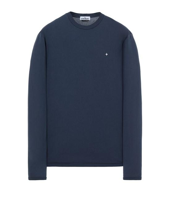 STONE ISLAND 21013 Long sleeve t-shirt Man Avio Blue