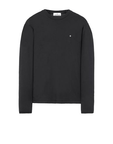 STONE ISLAND 21013 Long sleeve t-shirt Man Black EUR 129