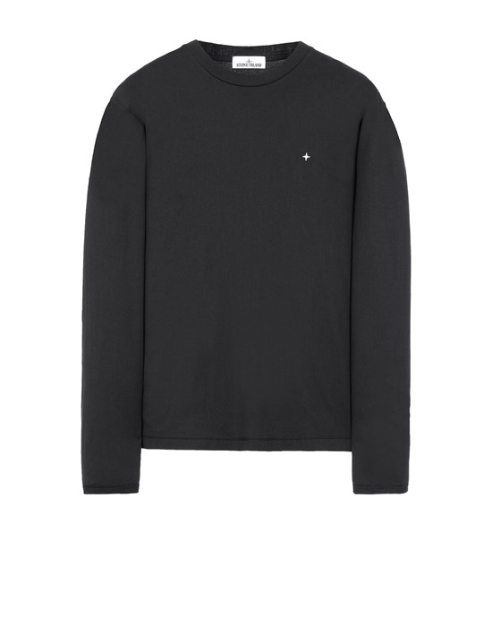 STONE ISLAND 21013 Long sleeve t-shirt Man Black