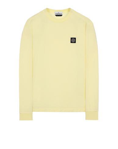 STONE ISLAND 22713 Long sleeve t-shirt Man Lemon USD 137