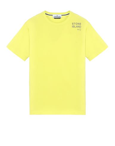 STONE ISLAND 2NS56 'SMALL LOGO TWO'	 Short sleeve t-shirt Man Pistachio Green USD 120