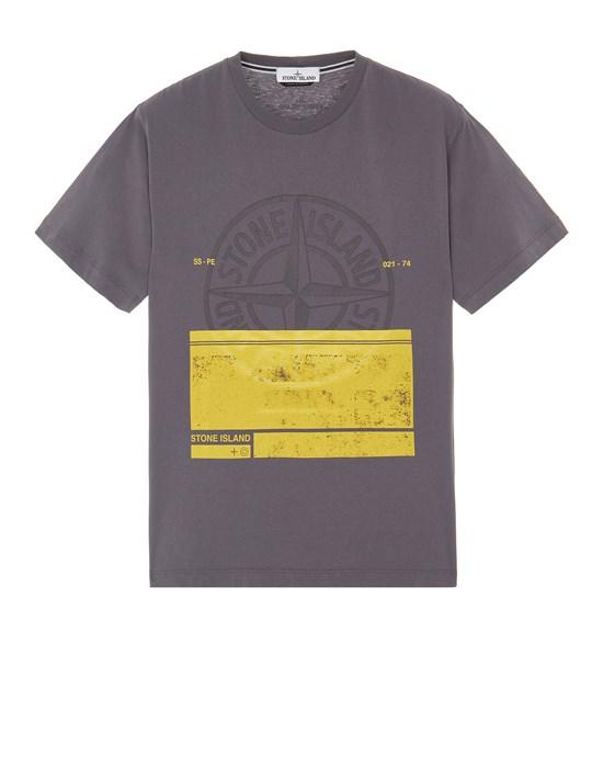 Short sleeve t-shirt Man 2NS65 'BLOCK ONE' Front STONE ISLAND