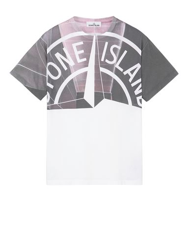 STONE ISLAND 2NS86 'URBAN 1' Short sleeve t-shirt Man White EUR 189