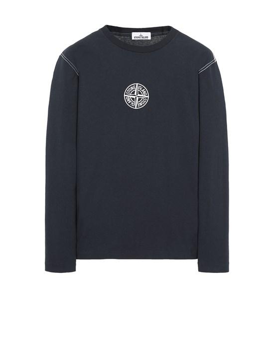 Langärmliges Shirt Herr 20744 Front STONE ISLAND