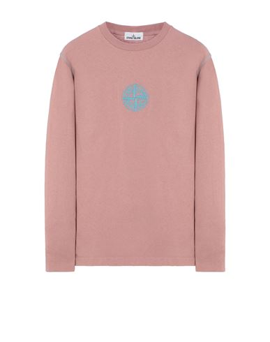 STONE ISLAND 20744 Long sleeve t-shirt Man Pink Quartz USD 186