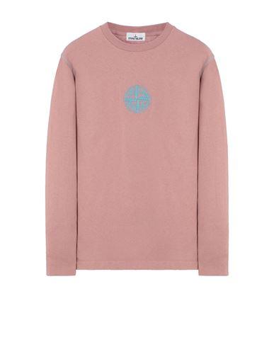 STONE ISLAND 20744 Long sleeve t-shirt Man Pink Quartz USD 156